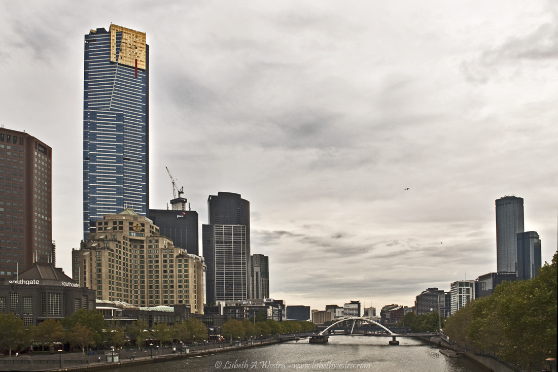 Eureka Skydeck 88 and Yarra River
