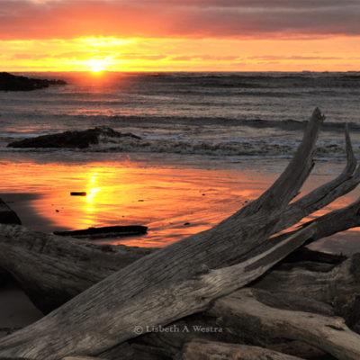 Arthur's River Sunset, Tasmania